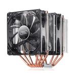 Ventilateur processeur avec deux ventilateurs 120mm à LED pour Intel et AMD