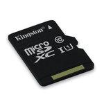 MicroSDXC 64 Go High Capacity Class 10 UHS-1 (garantie à vie par Kingston)