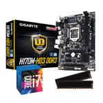 Carte mère Micro ATX Socket 1151 Intel H170 Express + CPU Intel Core i7-6700 (3.6 GHz) + RAM 8 Go DDR3 1600 MHz