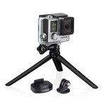 Fixation pour trépied avec mini trépied pour toutes les caméras GoPro
