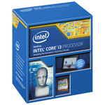 Processeur Dual Core Socket 1150 Cache L3 4 Mo Intel HD Graphics 4600 0.022 micron (version boîte - garantie Intel 3 ans)