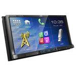 Autoradio DVD / CD / MP3 avec écran tactile port USB pour iPod / iPhone / smartphone, HDMI, Bluetooth et MHL