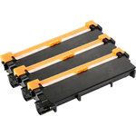 Pack de 3 toners compatibles Brother TN2320 (Noir)