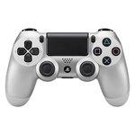 Manette sans fil pour Playstation 4 (coloris Argent)
