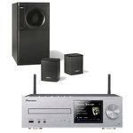 Micro-chaîne CD MP3 USB iPod/iPhone/iPad avec Wi-Fi DLNA et Airplay + Ensemble d'enceintes stéréo 2.1