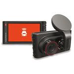 Caméra de conduite HD pour automobile avec puce GPS intégrée, écran LCD et Carte microSD 4 Go