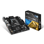 Carte mère Micro ATX Socket 1151 Intel H170 Express - SATA 6Gb/s + SATA Express - USB 3.1 - 2x PCI-Express 3.0 16x