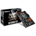 Carte mère ATX Socket 1151 Intel B150 Express - SATA 6Gb/s - USB 3.0 - 2x PCI-Express 3.0 16x