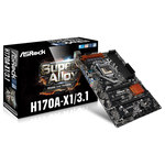 Carte mère ATX Socket 1151 Intel H170 Express - SATA 6Gb/s - USB 3.0 - 2x PCI-Express 3.0 16x