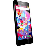 "Smartphone 4G-LTE Dual SIM - ARM Cortex-A53 8-Core 1.3 GHz - RAM 2 Go - Ecran tactile 5"" 720 x 1280 - 16 Go - Bluetooth 4.0 - 2300 mAh - Android 5.1"