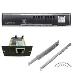 Onduleur Line Interactive 8 prises FR/Schuko 2000VA - RJ11/RJ45 - écran LCD + Carte SNMP + Kit Rail