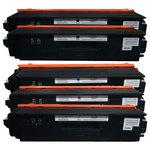 Pack de 5 toners compatibles Brother TN-320 / TN-325 / TN-328 (2 x noir, 1 x cyan, 1 x magenta et 1 x jaune)
