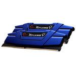 Kit Dual Channel 2 barrettes de RAM DDR4 PC4-19200 - F4-2400C15D-16GVB (garantie 10 ans par G.Skill)