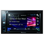 "Autoradio CD/DVD écran tactile 6.2"", USB, compatible Bluetooth, Android, iPhone 5/6 et AppRadio"