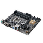 Carte mère Micro ATX Socket 1151 Intel B150 Express - SATA 6Gb/s - DDR4 - USB 3.0 - 1x PCI-Express 3.0 16x - Bonne affaire (article utilisé, garantie 2 mois