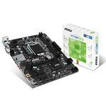 Carte mère Micro ATX Socket 1151 Intel H110 Express - SATA 6Gb/s - DDR4 - 1x PCI-Express 3.0 16x