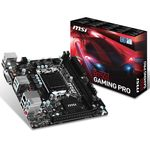 Carte mère Mini-ITX Socket 1151 Intel B150 Express - SATA 6Gb/s + M.2 - 1x PCI-Express 3.0 16x