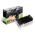 2 Go HDMI/DVI - Refroidissement passif - PCI Express (NVIDIA GeForce avec CUDA GT 730)