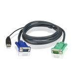 Cordon KVM USB 1.8 m