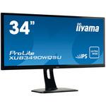 3440 x 1440 pixels - 5 ms (gris à gris) - Format large 21/9 - Dalle IPS - HDMI/MHL/DisplayPort - Noir