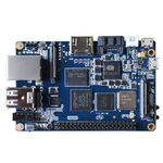 Carte mère avec processeur ARM Cortex A7 Octo-Core 2Ghz - RAM 2 Go - GPU PowerVR SGX544MP1 - RJ45 - HDMI - 2x USB 2.0 - Wi-Fi N / Bluetooth 4.0