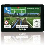 """GPS 14 pays d'Europe Ecran 4.3"""" avec Guide du routard et mise à jour à vie"""