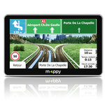 """GPS 14 pays d'Europe Ecran 7"""" avec Guide du routard et mise à jour à vie"""
