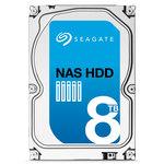 """Disque dur 3.5"""" 8 To 7200 RPM 128 Mo Serial ATA 6 Gb/s pour NAS"""