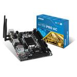 Carte mère Mini-ITX Socket 1151 Intel H170 Express - SATA 6Gb/s + M.2 - 1x PCI-Express 3.0 16x - Wi-Fi AC/Bluetooth 4.2