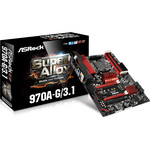 Carte mère ATX Socket AM3+ AMD 970 - SATA 6Gb/s - M.2 - USB 3.1 - 2x PCI Express 2.0 16x