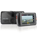 """Boite noire vidéo pour automobile avec puce GPS intégrée, caméra avant Extrême HD, caméra arrière Full HD et écran de contrôle 2.7"""""""