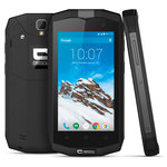 "Smartphone 4G-LTE Dual SIM IP67 - Snapdragon 410 Quad-Core 1.2 GHz - RAM 1 Go - Ecran tactile 4.5"" 540 x 960 - 8 Go - NFC/Bluetooth 4.0 - 3000 mAh - Android 5.1"