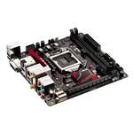 Carte mère Mini-ITX Socket 1151 Intel B150 Express - SATA 6Gb/s - DDR4 - USB 3.0 - M.2 - PCI-Express 3.0 16x - Wi-Fi AC et Bluetooth 4.1