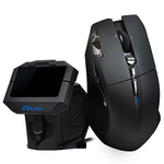 Souris laser sans fil pour gamer + station de contrôle à écran OLED - Bonne affaire (article utilisé, garantie 2 mois