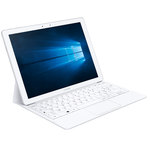 "Tablette Internet - Intel Core M3-6Y30 2.2 GHz 4 Go 128 Go 12"" tactile Wi-Fi AC/Bluetooth/Webcam Windows 10 Famille"