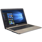 "Intel Pentium N3700 4 Go 1 To 15.6"" LED HD Graveur DVD Wi-Fi N/Bluetooth Webcam Windows 10 Famille 64 bits (garantie constructeur 2 ans)"