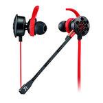 Ecouteurs intra-auriculaires avec microphone détachable pour gamer