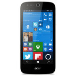 "Smartphone 4G-LTE Snapdragon 210 Quad-Core 1.1 GHz - RAM 1 Go - Ecran tactile 4.5"" 480 x 854 - 8 Go - Bluetooth 4.0 - 2000 mAh - Windows 10"