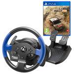 Ensemble volant à retour de force + pédalier compatible PC / PlayStation 3 (PS3) / PlayStation 4 (PS4) + Jeu (PS4)