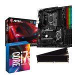 Carte mère ATX Socket 1151 Intel Z170 Express + CPU Intel Core i7-6700K (4.0 GHz) + RAM 16 Go DDR4