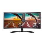 3440 X 1440 pixels - 5 ms - Format 21/9 - Dalle IPS incurvée - Hub USB 3.0 - Noir
