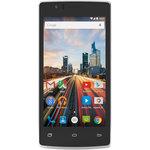 "Smartphone 4G-LTE Dual SIM - Snapdragon 210 Quad-Core 1.1 GHz - RAM 1 Go - Ecran tactile 4.5"" 480 x 854 - 8 Go - Bluetooth 4.0 - 1700 mAh - Android 5.1"