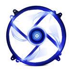 Ventilateur LED 200 mm Bleu - Bonne affaire (article jamais utilisé, garantie