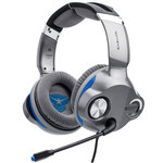 Casque-micro pour gamer - Son surround 5.1 en 4D - Eclairage LED - USB