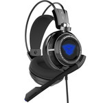 Casque-micro pour gamer - Son surround virtuel 7.1 - USB
