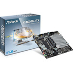 Carte mère Thin Mini ITX avec Processeur Intel Celeron J3160  - 2 x SATA 6 Gb/s - USB 3.0 - port pour alimentation