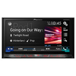 "Autoradio CD/DVD/DivX MP3 avec écran tactile 7"" contrôle iPod/iPhone, Apple CarPlay, USB, HDMI, Bluetooth, Android Auto, AppRadio"