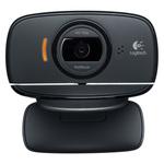 Webcam HD 720p rotative avec microphone intégré