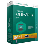 Antivirus - Licence 2 ans 1 poste  (français, WINDOWS)