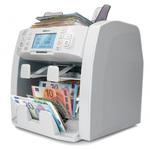 Compteuse de billets valeur comptable pour EUR, GBP, USD, CHF